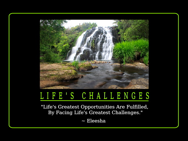 Life's Challenges Inspiration Quote Affirmation Classy Inspirational Quotes About Challenges